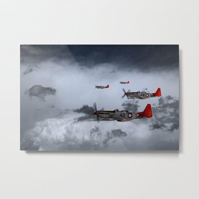 Red Storm Metal Print