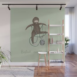 Bigfoot Caught on Film Wall Mural