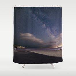 Milkyway at Good Harbor Beach Shower Curtain