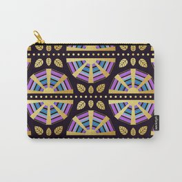 The Golden Age Art Deco Fan Carry-All Pouch