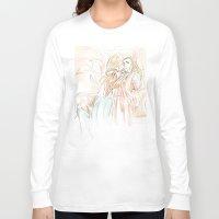 the hobbit Long Sleeve T-shirts featuring Thranduil_The Hobbit by JoySlash