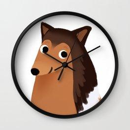 Collie - Cute Dog Series Wall Clock