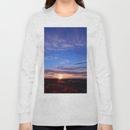 Sunset and Blue Sky Long Sleeve T-shirt