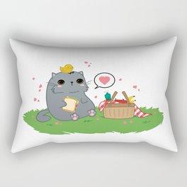 Kawaii Picnic Rectangular Pillow