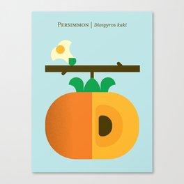 Fruit: Persimmon Canvas Print