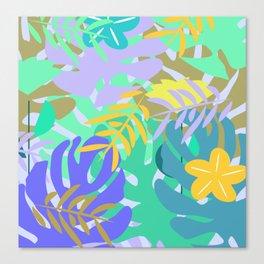 Soft tropical Canvas Print