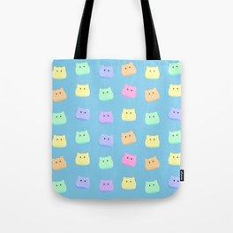 Cat Slimes! Tote Bag