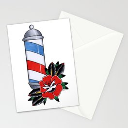 Barber Pole Stationery Cards