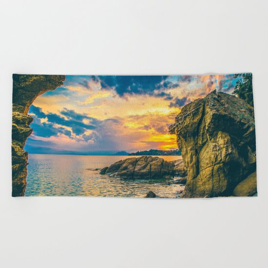 Secret Paradise Beach Towel