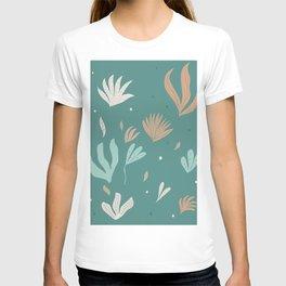 Underwater Leaves Jungle #2 #kids #decor #art #society6 T-shirt