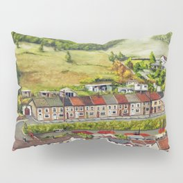 Cwm Parc, Treorchy, South Wales Valleys Pillow Sham