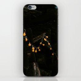 CHRSITMAS LIGHTS iPhone Skin
