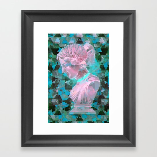 All Boundaries Are Conventions Framed Art Print