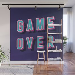 Game Over I Wall Mural