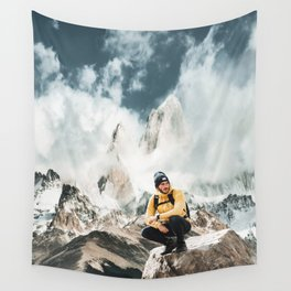 hiking in patagonia Wall Tapestry