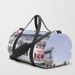 New Orleans Paddle Steamer Duffle Bag