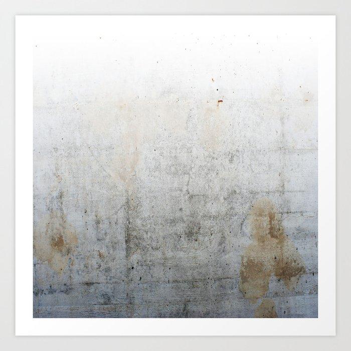 Concrete Style Texture Art Print