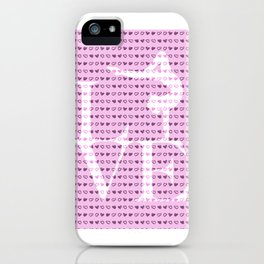 Love Gymnastics - Pink iPhone Case