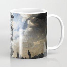 London Eye Dramatic Art Coffee Mug