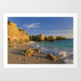 Algarve cove Art Print
