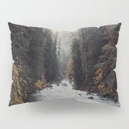 Foggy with a chance of rain Pillow Sham