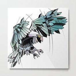 Geometric eagle Metal Print