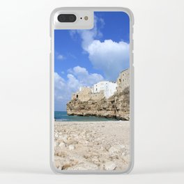 Polignano a mare Clear iPhone Case