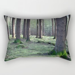 Between the trees Rectangular Pillow