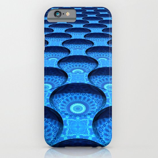 Blue Dimples with Kaleidoscopes iPhone & iPod Case