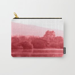 Raspberry Riverbank Carry-All Pouch