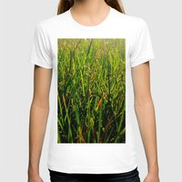 grass T-shirts featuring Grass by Efua Boakye
