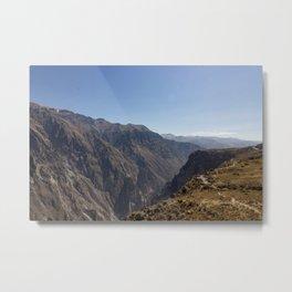 Colca Canyon Metal Print