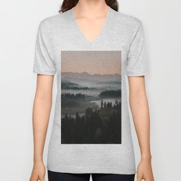 Good Morning! - Landscape and Nature Photography Unisex V-Neck
