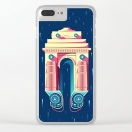 Sci-Fi India Gate Clear iPhone Case