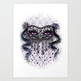 La Mascarade Des Femmes (Day) Art Print
