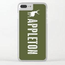 Deer: Appleton, Wisconsin Clear iPhone Case
