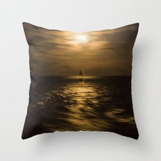 I'll Sail Away Throw Pillow