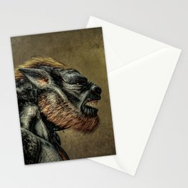 Portrait of a Werewolf Stationery Cards