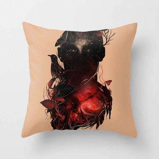 Universe Inside Throw Pillow