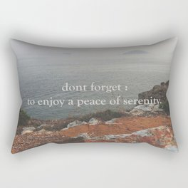 Serenity at home Rectangular Pillow