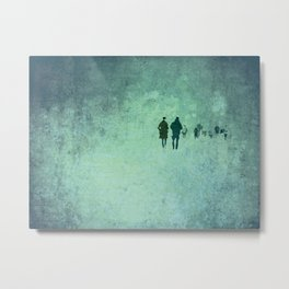 People  Metal Print