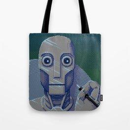 Pixelbot Tote Bag