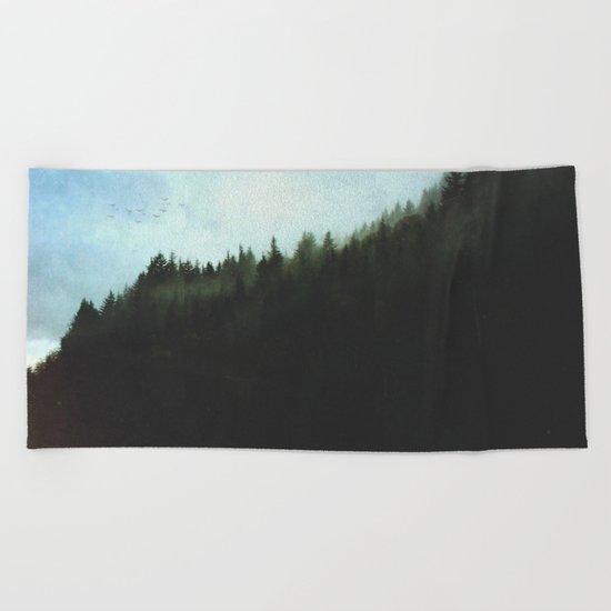 Fractions A14 Beach Towel