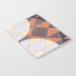 Triangles and Circles Pattern no.24 Notebook