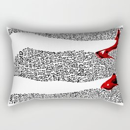 9 Crimes Rectangular Pillow