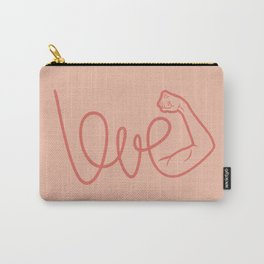Love Is The Power (color version) Carry-All Pouch