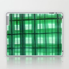 Evergreen Plaid Laptop & iPad Skin