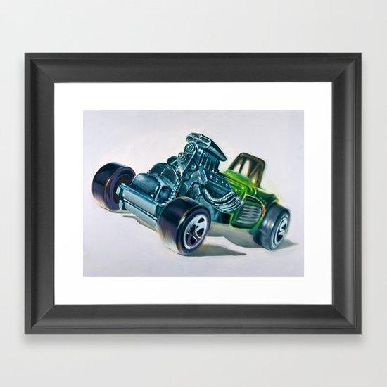 Hotwheels Framed Art Print
