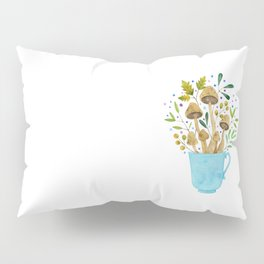 Relaxing Shrooms Pillow Sham