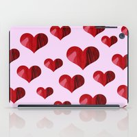 hearts iPad Cases featuring Hearts by Marjolein